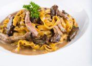Tagliatelle Fresco com Filet Mignon e Funghi